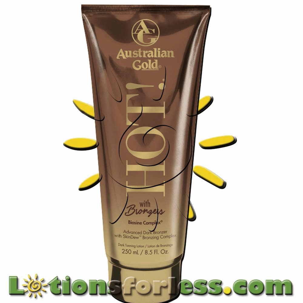 Australian Gold - Hot! With Bronzers
