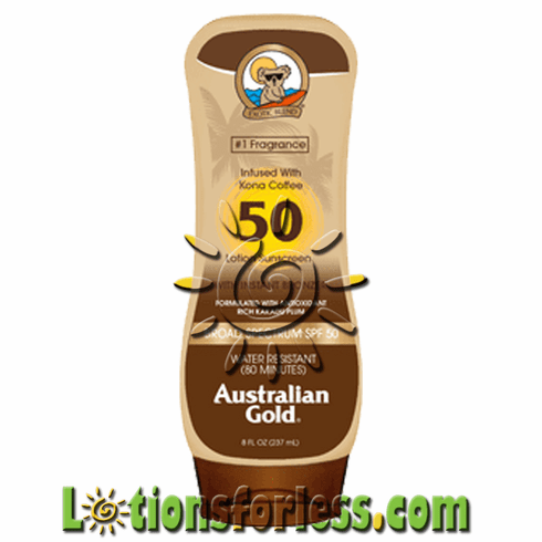 Australian Gold - SPF 50 Lotion with Bronzers