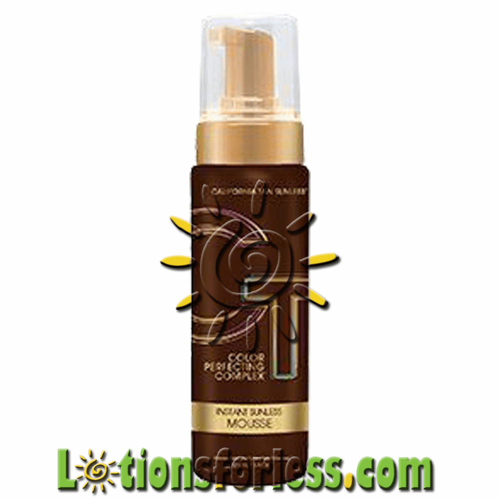 California Tan - Sunless Step 2 CPC Instant Mousse