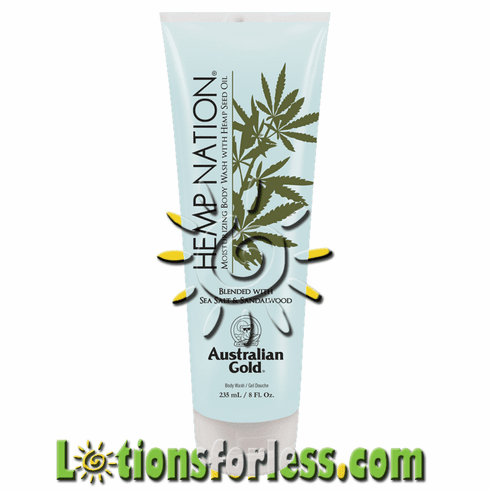 Hemp Nation - Sea Salt & Sandalwood Body Wash
