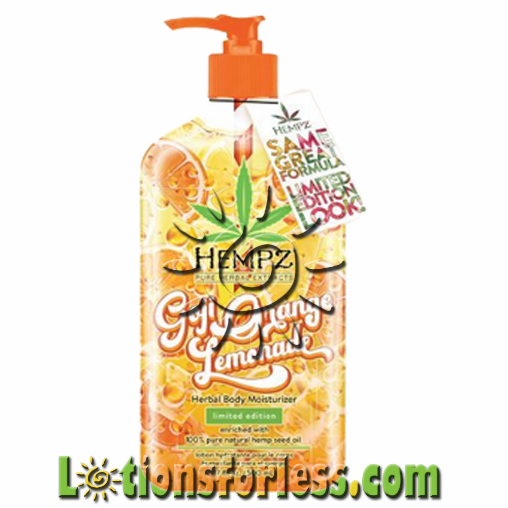 Hempz - Gojo Orange Lemonade 17oz