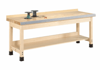 """DIVERSIFIED WOODCRAFTS Aux. Workbench - Wall Series., 32""""-14"""