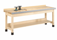 """DIVERSIFIED WOODCRAFTS Aux. Workbench - Wall Series., 32""""-21"""