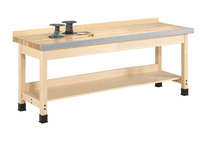 """DIVERSIFIED WOODCRAFTS Aux. Workbench - Wall Series., 32"""""""