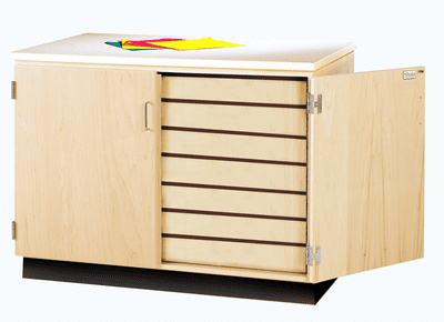 DIVERSIFIED WOODCRAFTS Drawing Paper Storage Cabinet