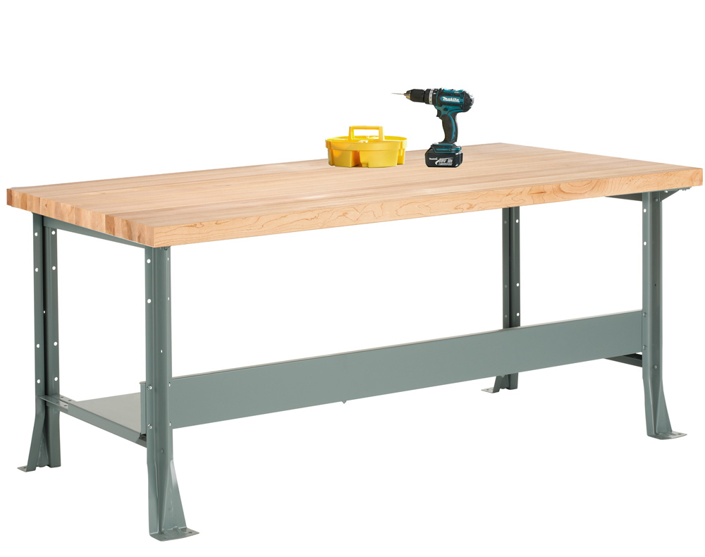Stupendous Diversified Woodcrafts Shain Steel Workbench 1 3 4 M 11 Andrewgaddart Wooden Chair Designs For Living Room Andrewgaddartcom