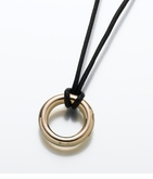 14kt Gold Eternity Necklace Cremation Jewelry