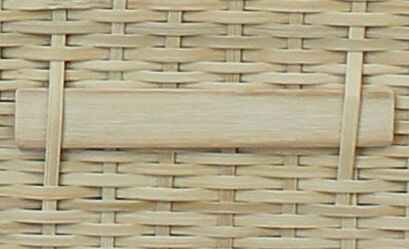 24 Inch Eco Friendly 6-Point Woven Bamboo Biodegradable Pet Coffin