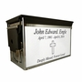 $49 Chrome Army M2A1 Ammo Can Cremation Urn