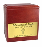 $99 President's Cherry Wood Cremation Urn