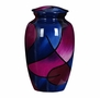 Abstract Hand Painted Cremation Urn