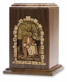 All God's Children - Wood Infant Cremation Urn - Engravable