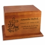 Ambassador Cherry Wood Cremation Urn