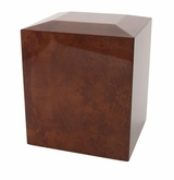 Amber Companion Wood Cremation Urn