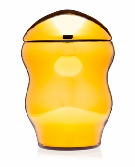 Amber Family Collection Glass Cremation Urn