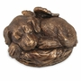Angel Dog Bronze Pet Cremation Urn