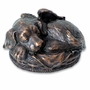 Angel Dog Copper Pet Cremation Urn
