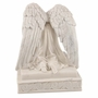 Angel in Mourning Marbleized Alabastrite Keepsake Cremation Urn