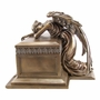 Angel of Bereavement Cold Cast Bronze Finish Cremation Urn