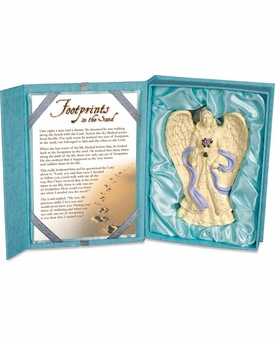 Angel Platinum Gift Boxed Ornament