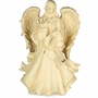 Angel with Flowers Companion Cremation Urn