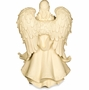 Angel with Flowers Cremation Urn