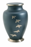 Aria Ascending Doves Brass Cremation Urn
