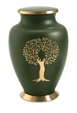 Aria Tree of Life Brass Cremation Urn