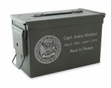 Army M2A1 Ammo Can Cremation Urn