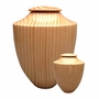 Artisan Heritage Hand-Turned Southern Pine Wood Keepsake Cremation Urn
