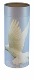 Ascending Dove Eco Friendly Cremation Urn Scattering Tube in 2 sizes