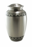 Athena Pewter Brass Cremation Urn - Engravable