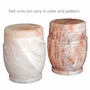 Athena Rock Salt Biodegradable Cremation Urn