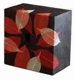 Autumn Leaves Embrace Biodegradable Cremation Earthurn in 3 sizes