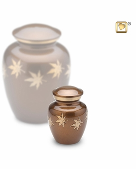 Autumn Leaves Keepsake Cremation Urn