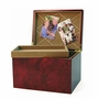 Autumn Leaves MDF Wood Memory Chest Cremation Urn