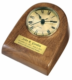 Autumn Mini-Clock Wood Keepsake Cremation Urn