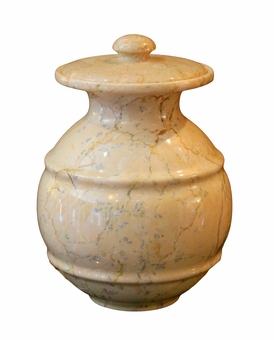 Avalon Cameo Marble Pet Cremation Urn