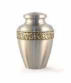 Avalon Pewter Brass Cremation Urn - Engravable