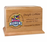 Baseball  Cremation Urn - Solid Cherry Wood 2