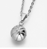 Basketball Stainless Steel Cremation Jewelry Pendant