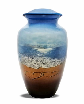Beach Memories Picture Cremation Urn