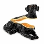 Bejeweled Black Labrador Keepsake Box