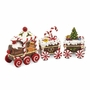 Bejeweled Candy Cane Train Keepsake Box