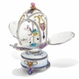 Bejeweled Carousel With Horse Musical Egg Keepsake Box