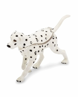 Bejeweled Dalmatian Keepsake Box