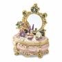 Bejeweled Dressing and Makeup Table Keepsake Box