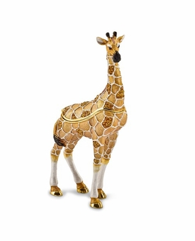 Bejeweled Formal Attire Giraffe Keepsake Box