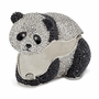 Bejeweled Full Crystal Panda Bear Keepsake Box