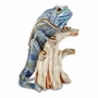 Bejeweled Iguana On Branch Keepsake Box